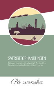 Broschyr om Sverigeförhandlingen