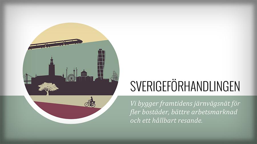 Presentation av Sverigeförhandlingen på svenska