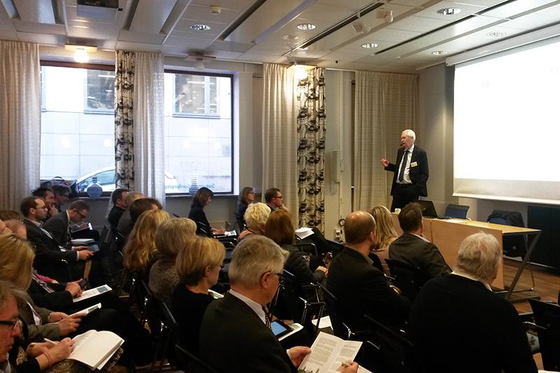 SKL - seminarium om Sverigeförhandlingen. HG Wessberg