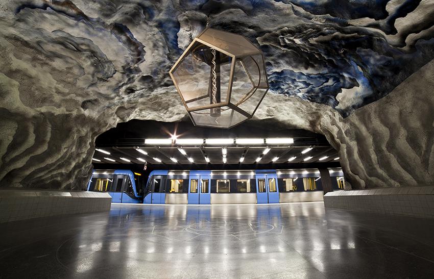 Stockholms tunnelbana. Foto: Valentijn Tempels/Shutterstock.com