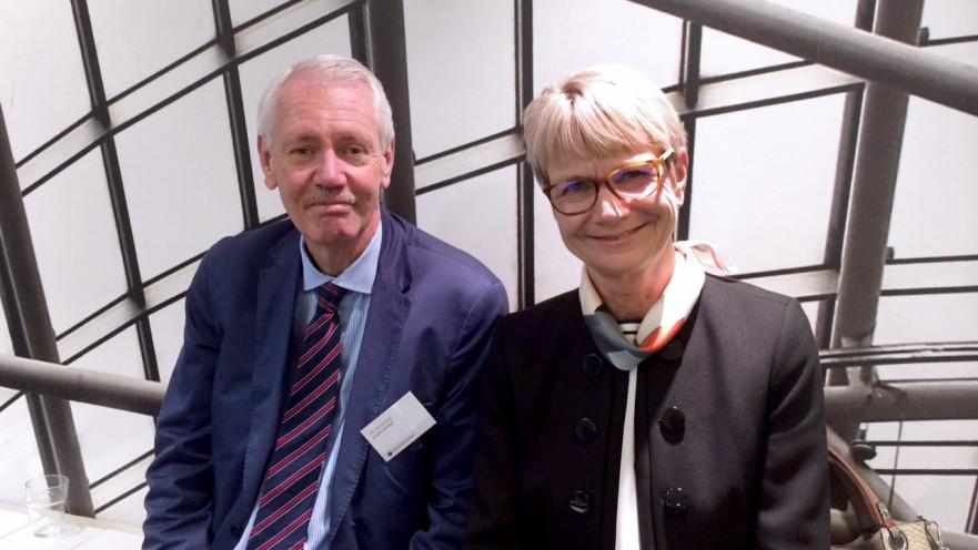 HG Wessberg och Catharina Håkansson Boman, förhandlingspersoner på Sverigeförhandlingen