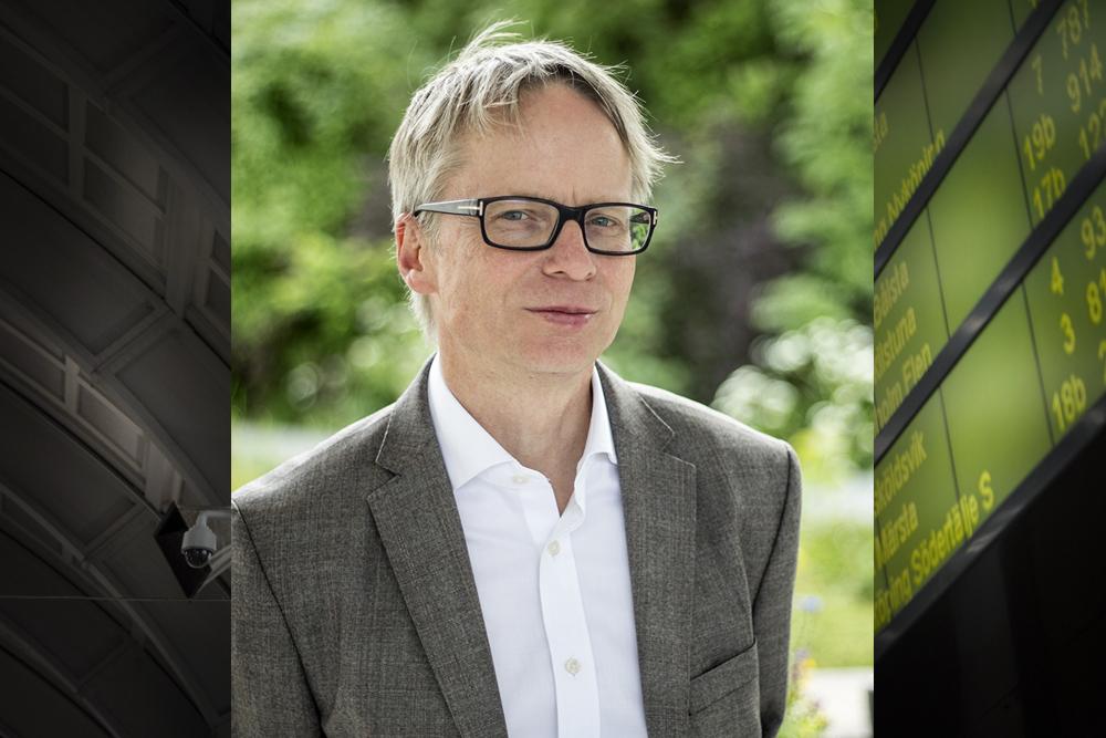 Niklas Lundin, huvudsekreterare Sverigeförhandlingen