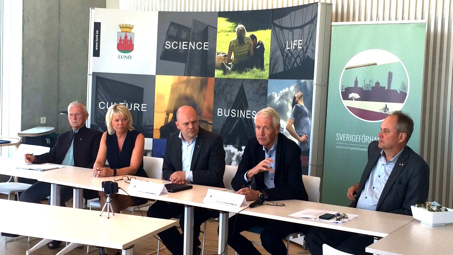 Lund först ut med paketlösning i Sverigeförhandlingen. Foto: Louise Andersson, Sverigeförhandlingen