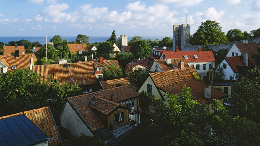 Visby, foto: Anders Ekholm, Folio Images