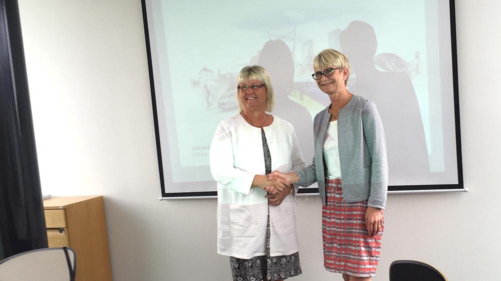 Sverigeforhandlingen och Hassleholm överens. Foto: Hanna Gardell
