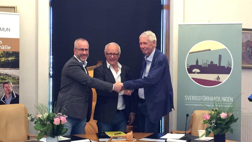 Tranås överens med Sverigeförhandlingen. Foto: Louise Andersson, Sverigeförhandlingen