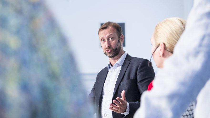 Sverigeförhandlingens seminarium i Almedalen 2016 - Johan Trouvé, vd Västsvenska Handelskammaren. Foto: Sandra Adams Backlund